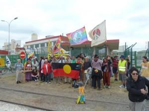 Marche de la paix à Malvési