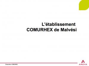 Comurhex-ppt